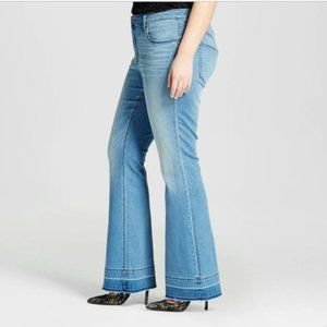 Ava & Viv Flare Acampanado Jeans 16W NWT